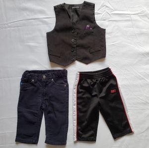 Kids Boys 12M Pants and Vest